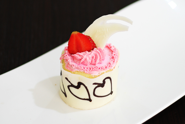 Strawberry Cake Portion
